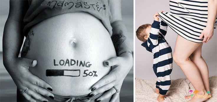 En yaratıcı hamilelik duyuruları :) (16+)
