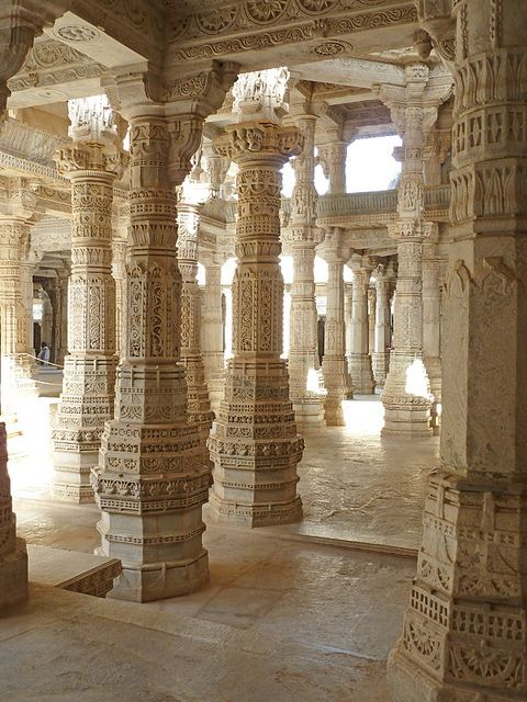 Ranakpur, temples Jain