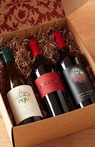 Peju Party in a Box Wine Gift Set 3 x 750 mL <3 Click the VISIT button for detailed description