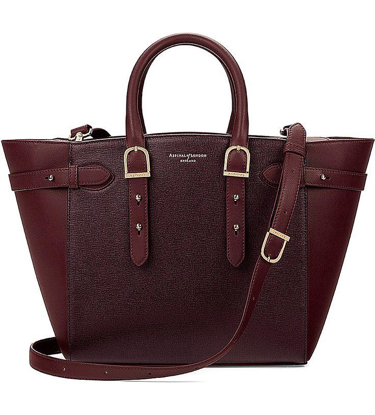 ASPINAL OF LONDON - Marylebone medium Saffiano leather tote | Selfridges.com