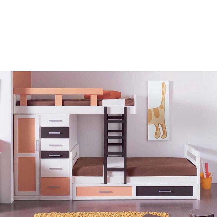 Las 25 mejores ideas sobre escaleras de madera maciza en - Escalera cama infantil ...