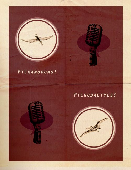 """Also, pteranodons aren't even dinosaurs, as the station had previously stated— just winged reptiles that lived about 70 million years after pterodactyls. Finally, earlier we reported a death toll of 0, when, in fact, the number is closer to 38. We regret these errors."" - Welcome to Night Vale Episode 4 - PTA Meeting"