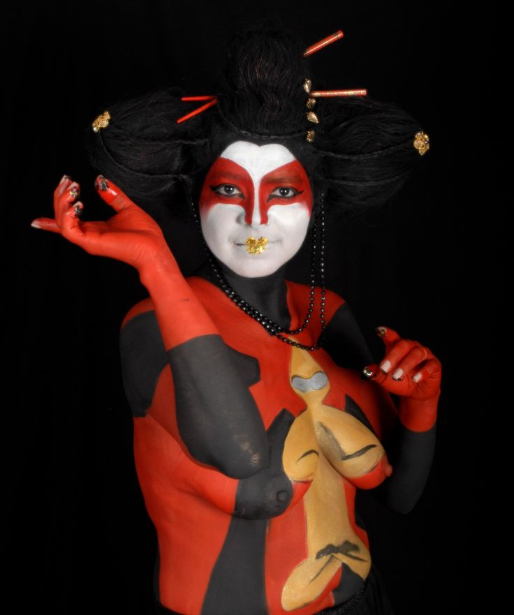 Hair and Makeup: Noa Maria Painter: Sylvie Voisin