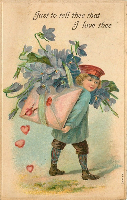 84 best images about Valentines day – Vintage Victorian Valentine Cards