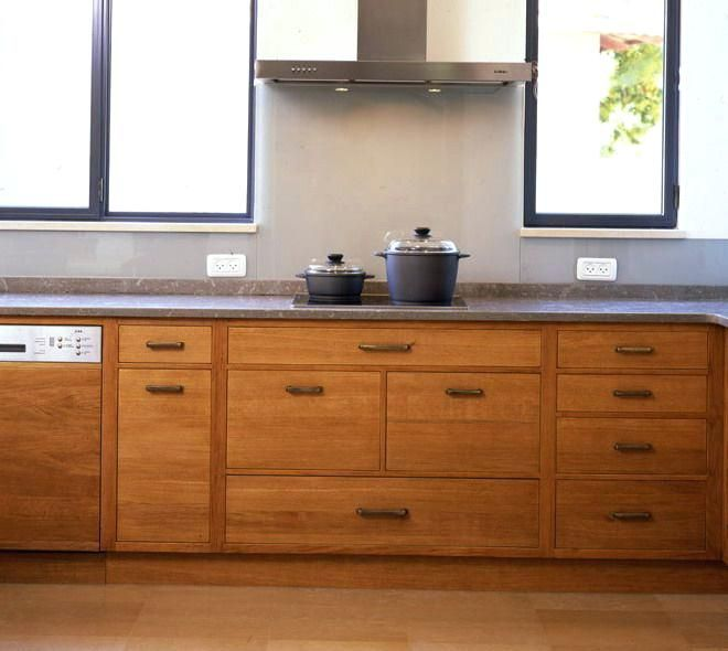 Upper Kitchen Cabinet Woodworking Plans: Plywood Unfinished Slab Cabinet Doors ...