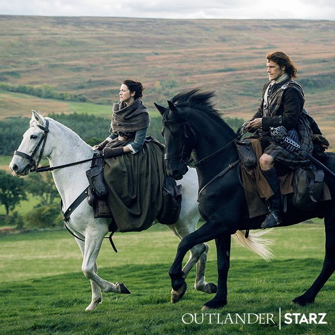 Let Outlander take you on an unforgettable adventure. Season 3 premieres September 10 on STARZ.