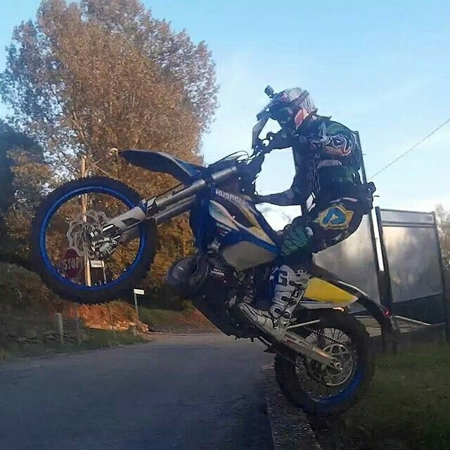 Me #enduro #husaberg250 #te250 #fim #messina #training