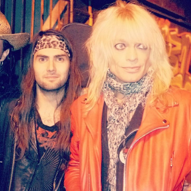 Tony and Michael Monroe (hanoï Rocks)  Follow us : www.facebook.com/rustedrock  Twitter: @rusted_rock  Instagram : @tonyrust