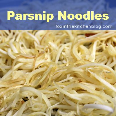 Tutorial: How To Cook Parsnip Noodles :: Easy Like A Sunday Morning