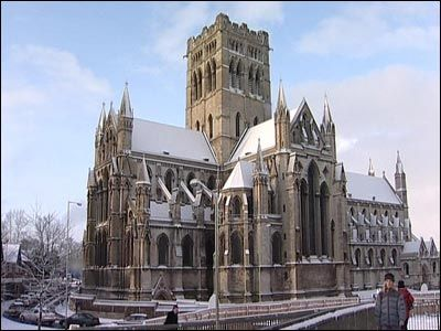 The Catholic Cathedral of St John the Baptist, Norwich.  I could see the high point of this tower from my home in Drayton.