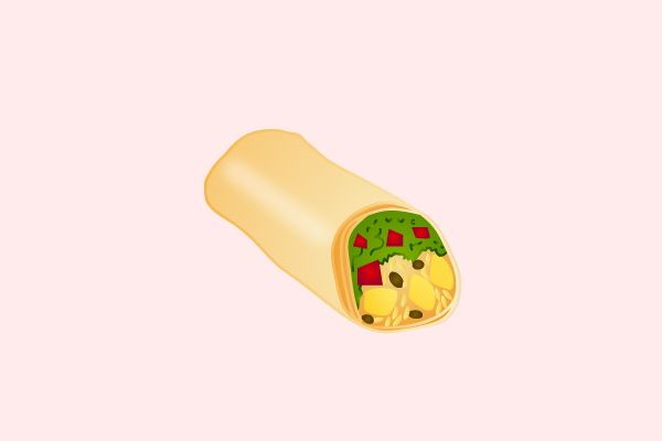 The 10 New Emoji We Desperately Need #refinery29  http://www.refinery29.com/2014/04/65997/best-emojis#slide2  A Burrito Why: Well, as the cool kids say: A burrito a day keeps the doctors away. Example Illustration: A single burrito emoji will get the message across that you're really, really hungry.