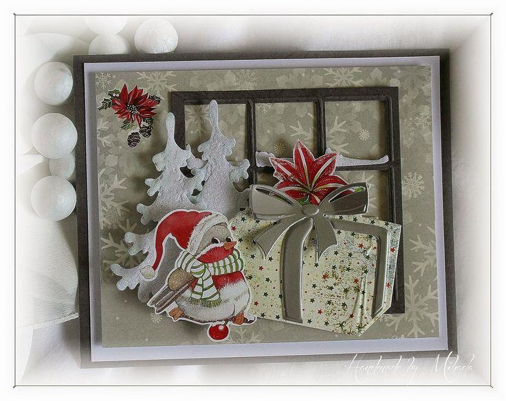 Handmade by Mihaela: CR1286 Snowy Window
