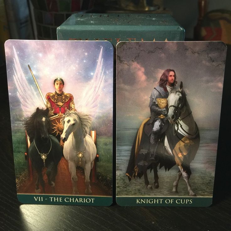 Two card reading.