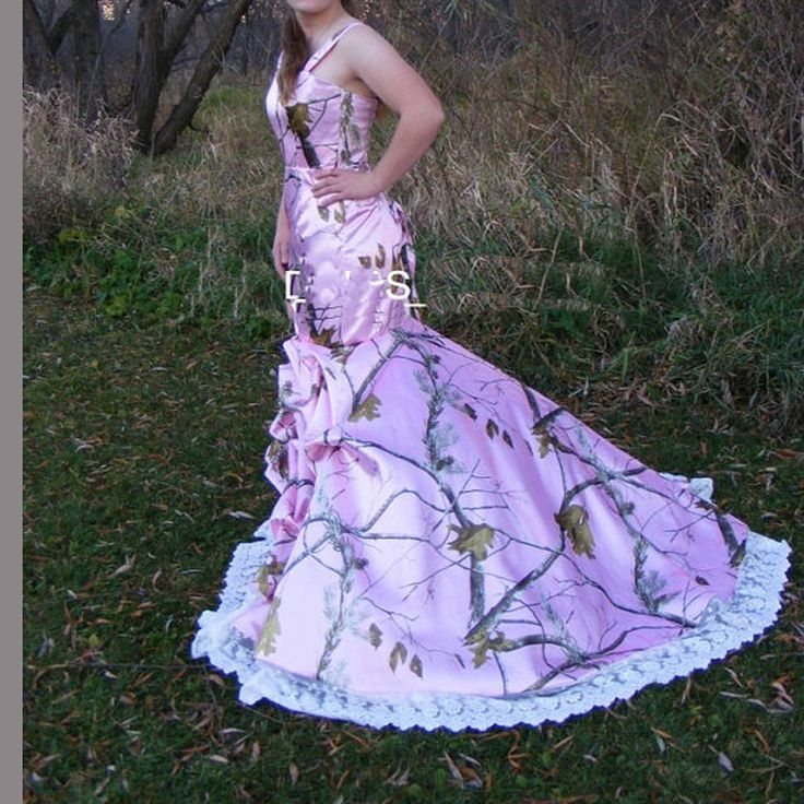 >> Click to Buy << straps realtree camouflage gowns pink camo wedding dresses  2017 bridal gowns vestido de noiva  custom make size 0 free shipping #Affiliate
