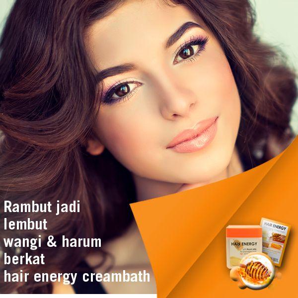 Dapatkan hasil rambut yang tetap sehat dan lembut dengan Makarizo hair Energy Creambath