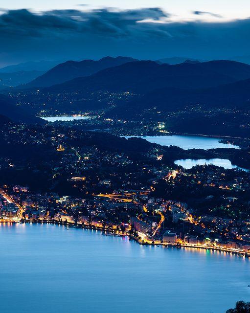 Monte Brè, Switzerland.