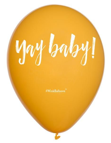 Yay Baby! Balloon | WinkBalloons.com Helium | Balloons | Delivered | Sydney | Funny | Baby Shower