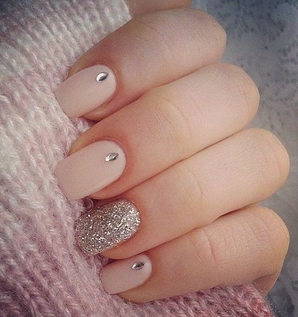 #nude #lovely #nails