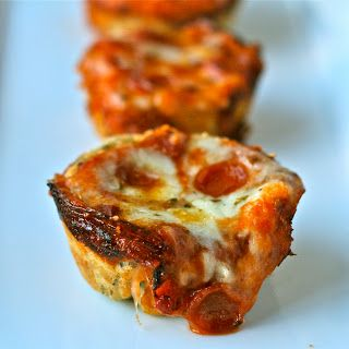 Mini Deep Dish Pizzas Recipe