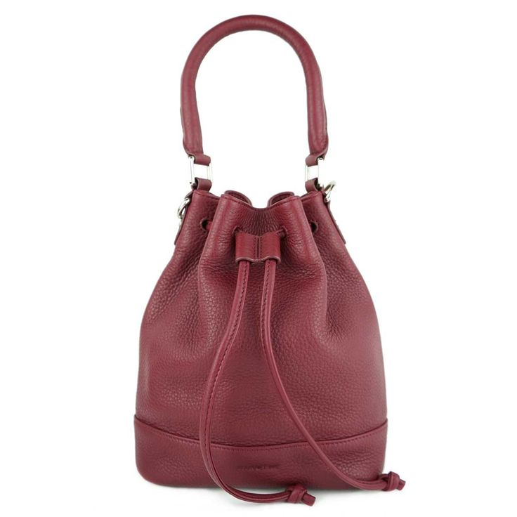 MINUTIAE Bucket Bag - Marsala Leather – @minutiae_au #minutiae #Australian #luxury #marsala #leather