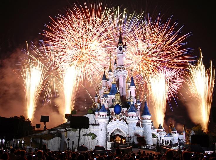 Sleeping Beauty Castle Sleeping Beauty Castle (fireworks at night)
