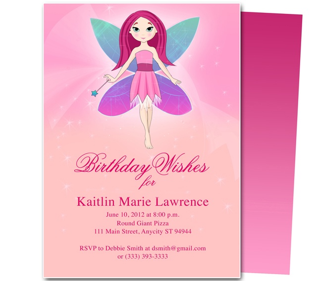 23 best Kids Birthday Party Invitation Templates images on Pinterest ...