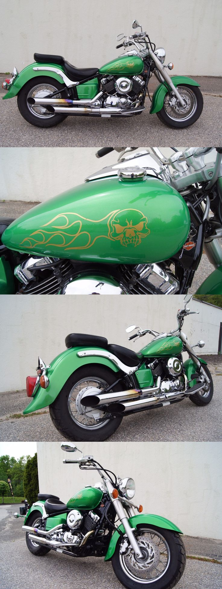Motorcycles: 2003 Yamaha V Star 2003 Yamaha Xvs65 A Motorcycle V Star 650 Classic -> BUY IT NOW ONLY: $1795 on eBay!