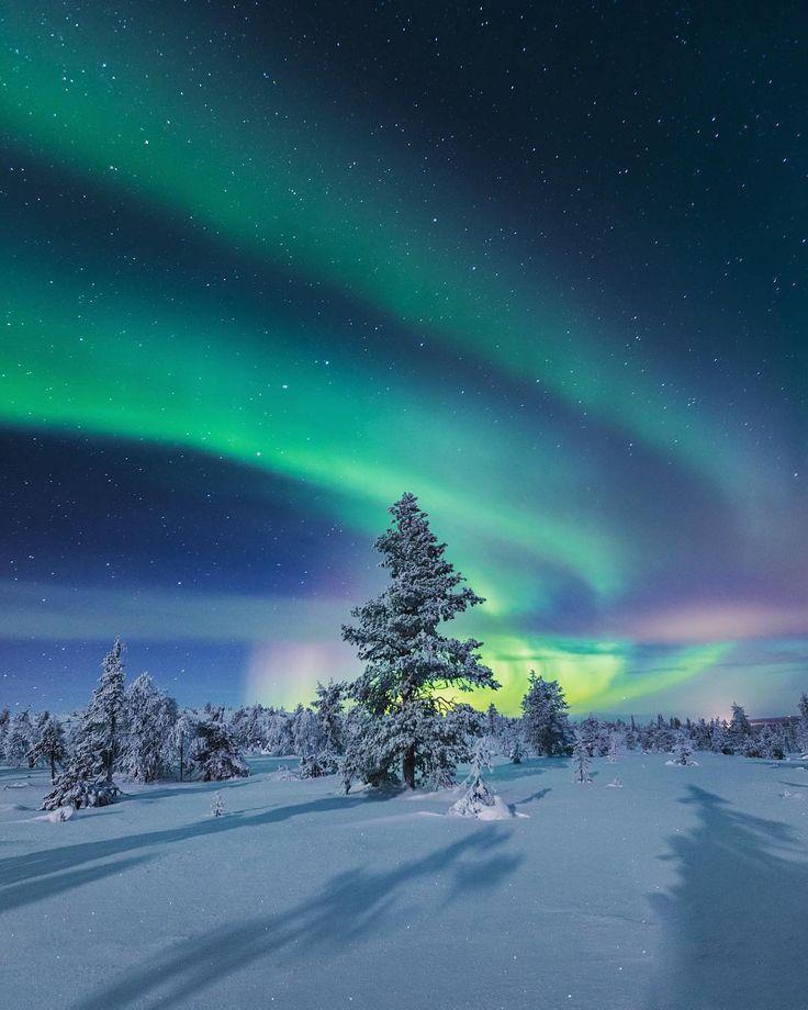болела картинки северного сияния зимой должны понимать