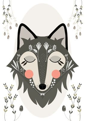 Wolf / Loup | Mundobu: Ilustraciones