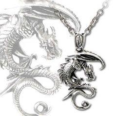 Vesuvea Alchemy Gothic Pendant