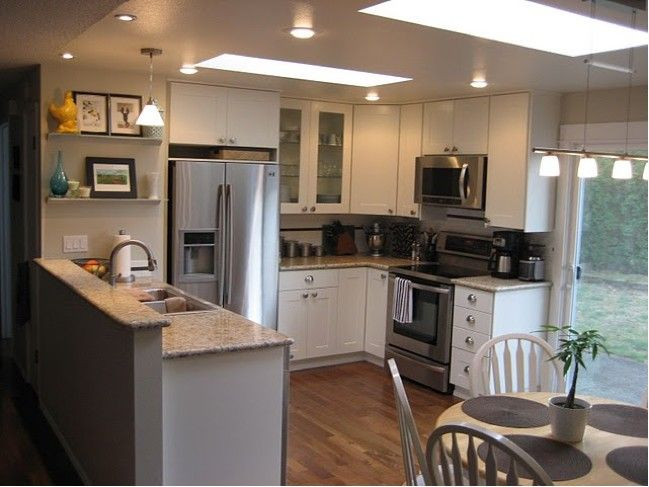 white adel cabinets from ikea. beautiful ideas. Home Design Ideas
