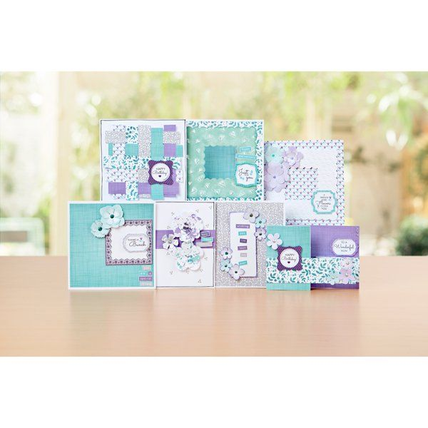 Hearts and Flowers Project Kit by Julie Hickey with Free Die Cut and Embossed Frames (402666) | Create and Craft