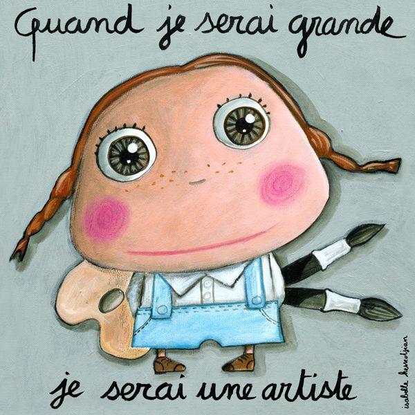 Tableau artiste Isabelle Kessedjian