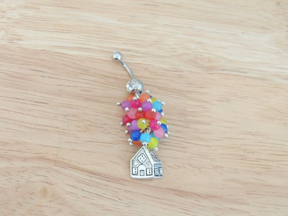 Up House Belly Ring