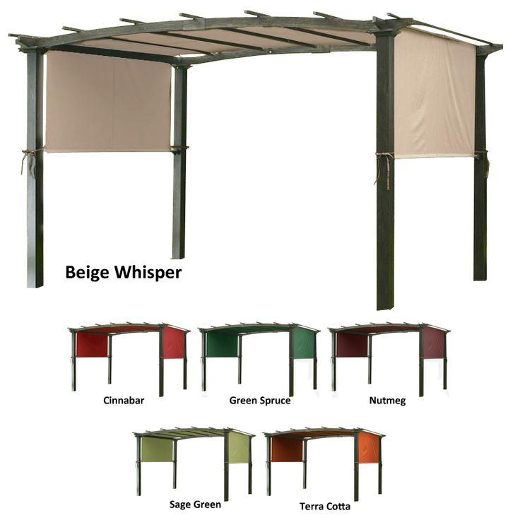Universal Designer Replacement Pergola Shade Canopy