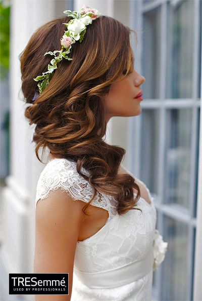 Look Romántico Matrimonio - Perfect Wedding Hairstyle #TRESemméPerú