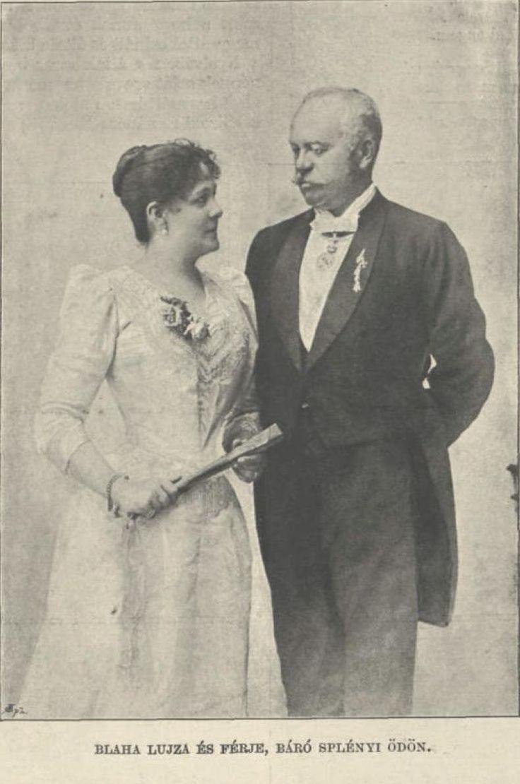 Blaha Lujza és Slényi Ödön