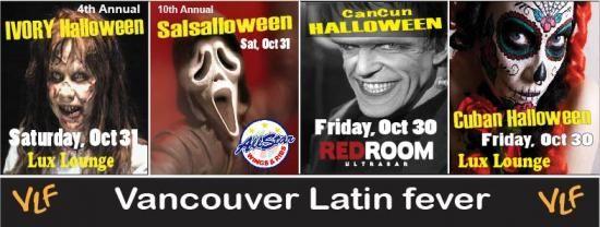 Halloween Parties 2015 VANCOUVER