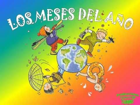Canción Infantil LOS MESES DEL AÑO - YouTube