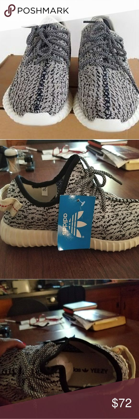 YEEZY BOOST Brand new with tags! Comfy and on trend! Price is firm and no trades! Buy both pair and recieve 10% off! 😁 adidas Shoes Athletic Shoes