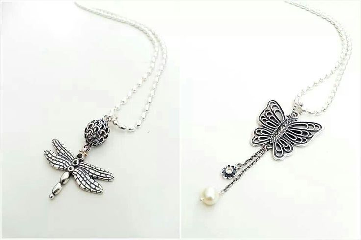 PANDORA Dragonfly and Butterfly Pendants ♡ ♥ ♡
