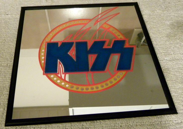 Kiss Carnival Logo 12 Inch X 12 Inch Mirror Not Aucoin