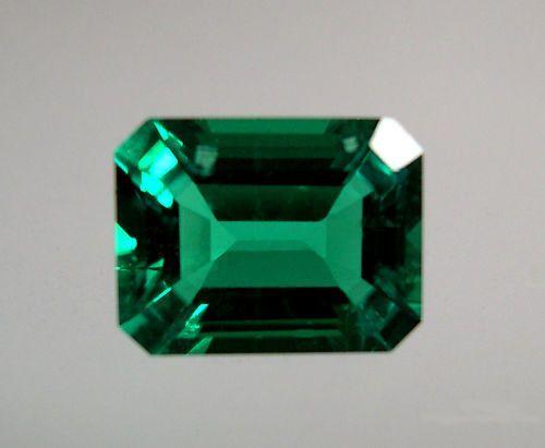 Lab-Created-Hydrothermal-<b>Emerald</b>-<b>Green</b>-Octagon-Loose-<b>stone</b> ...