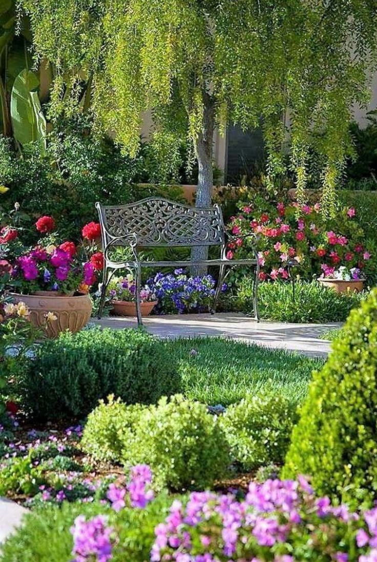 Flower Garden Ideas Easy Landscaping Cottage Garden Beautiful Flowers Garden