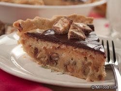 Our Candy Bar Pie is luscious tasting and easy as can be to prepare. If you want to show off your baking skills without a lot of fuss, this one will please a crowd of any age.