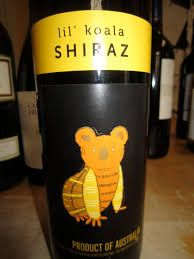 Image result for shiraz wine with koala bear