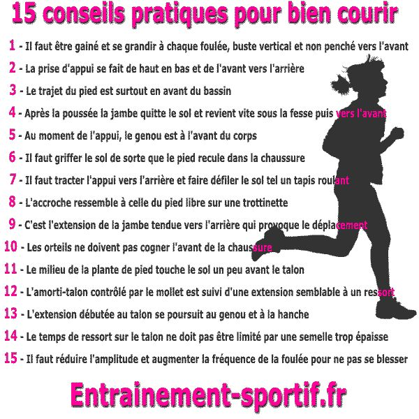 15 conseils pratiques pour bien #courir