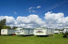 Privately owned Caravans for Hire at  Park Holidays Winchelsea Sands Sussex