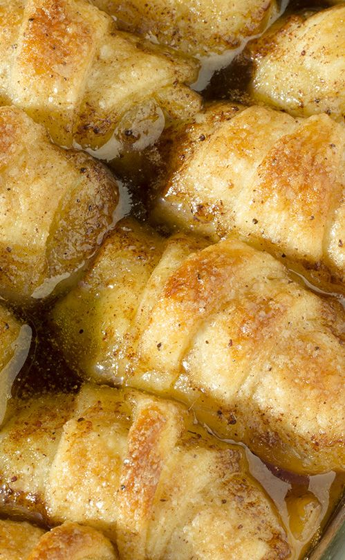 """Easy Apple Dumplings (OMG chocolate desserts). """"Something you really should not miss in your lifetime."""""""