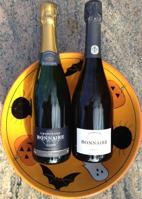 Halloween with Champagne Bonnaire Grand Cru Cramant www.the-champagne.ch